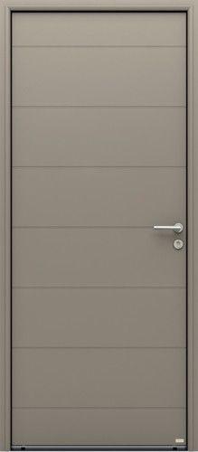 Modle dorval porte dentre aluminium contemporaine sans vitrage modle dorval porte dentre aluminium contemporaine sans vitrage des lignes horizontales confrent un style solutioingenieria Image collections