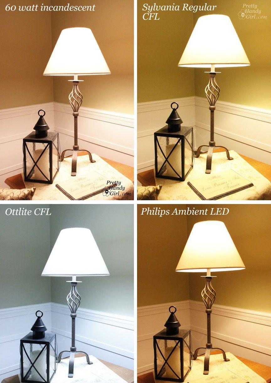 Soft Vs Warm Light : light, CFLs,, Incandescents, Review, Light, Bulbs, Pretty, Handy, Kitchen, Lighting,, Bedroom, Lamps,, Lighting