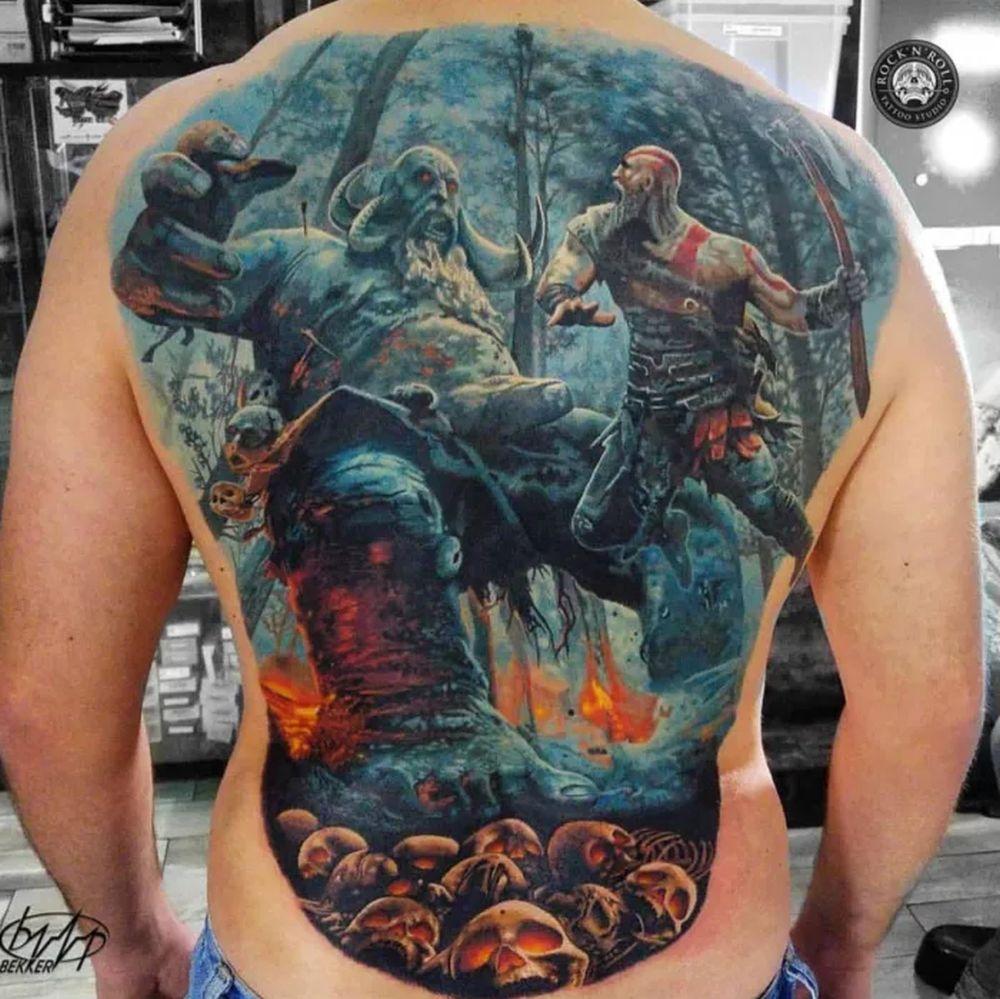 Tatoo Rücken