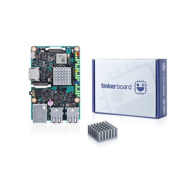 ASUS Tinker Board is an ARM-based, single-board computer with a quad ...