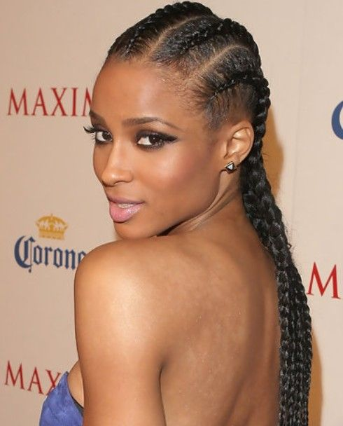 Ciara-Long-Hairstyle-Braided-Haircut.jpg (490×608) | Ciara hair ...