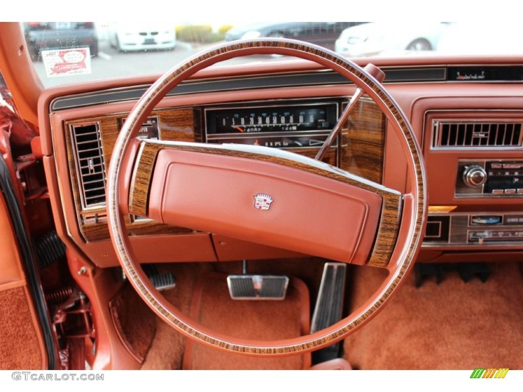 1977 cadillac coupe deville standard coupe deville model steering