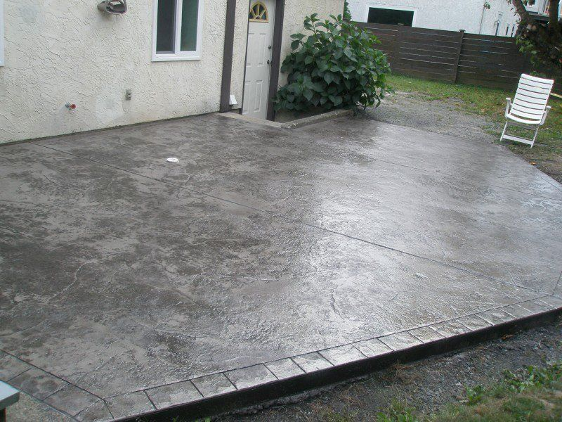 26 stamped concrete ideas stamped
