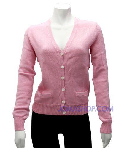 Ralph Lauren Womens Pink Button-down Sweater « ShirtAdd.com ...