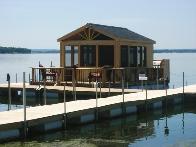 Trailerable Pontoon Houseboat | DIY Houseboat Plans