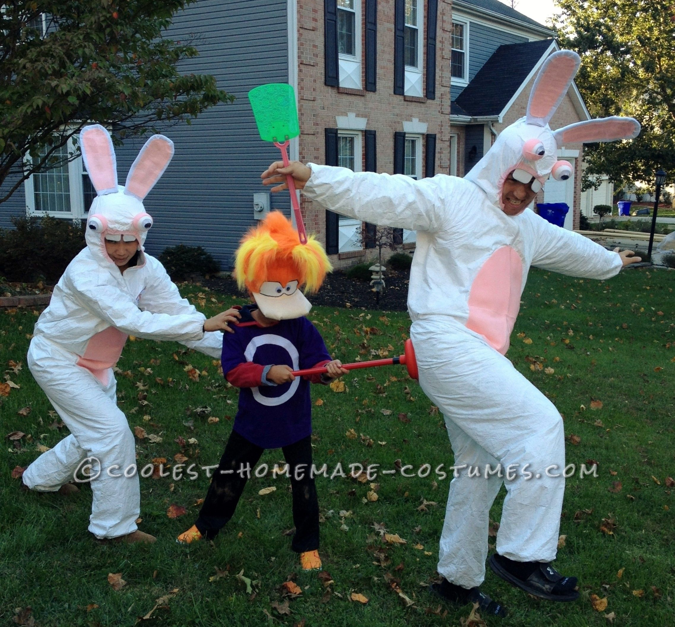 rabbids halloween raving rabbids halloween costume rabbids pinterest halloween rave - Raving Rabbids Halloween Costume
