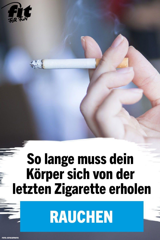 Raucher aufhoren wie lange verdauungsprobleme