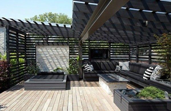 Moderne terrassengestaltung  ▷ 1001+ Ideen für die moderne Terrassengestaltung | Dachterrasse ...