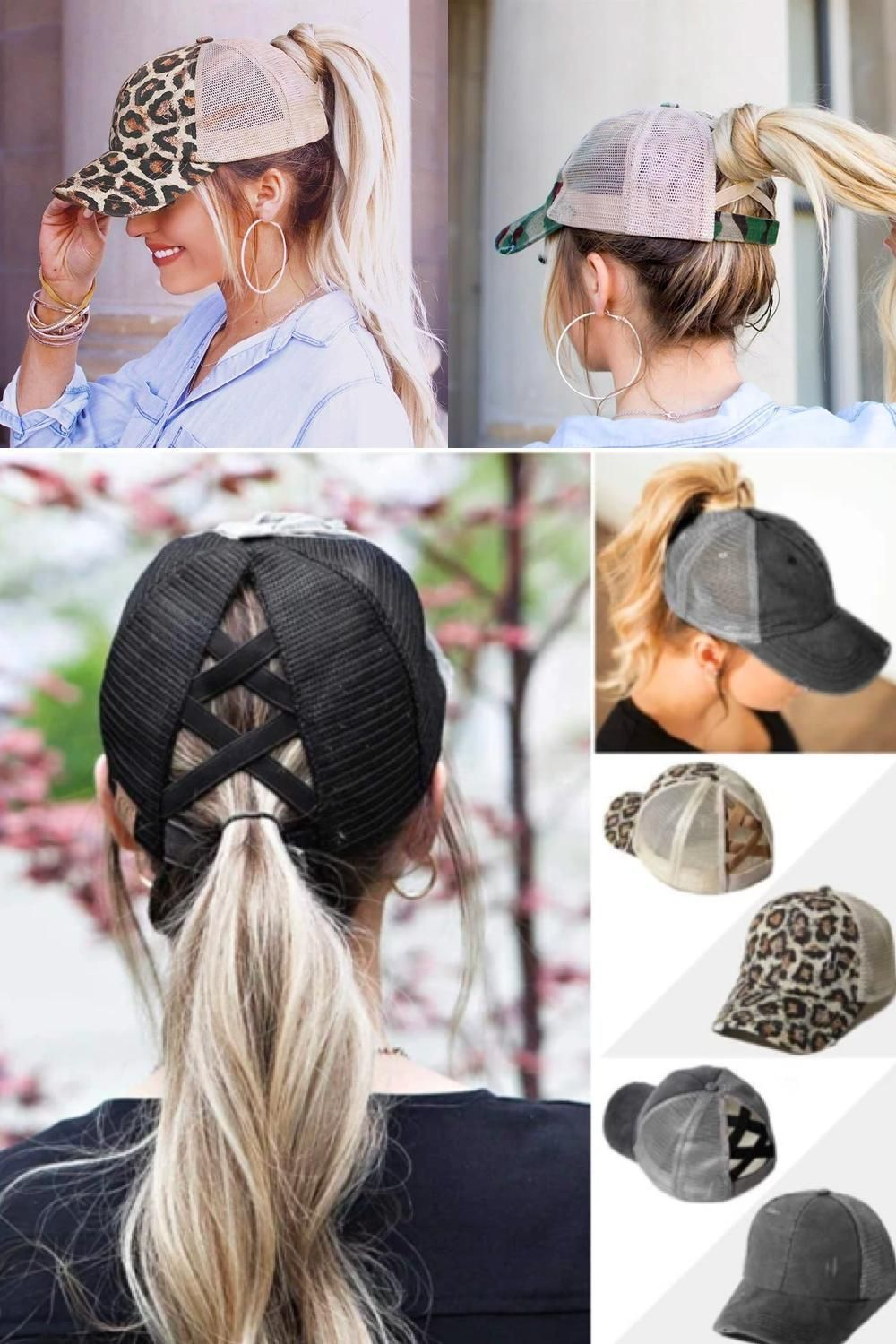 👉🏼 CrissCross caps: The trend of the year 2020! 😍 Specially designed for women!