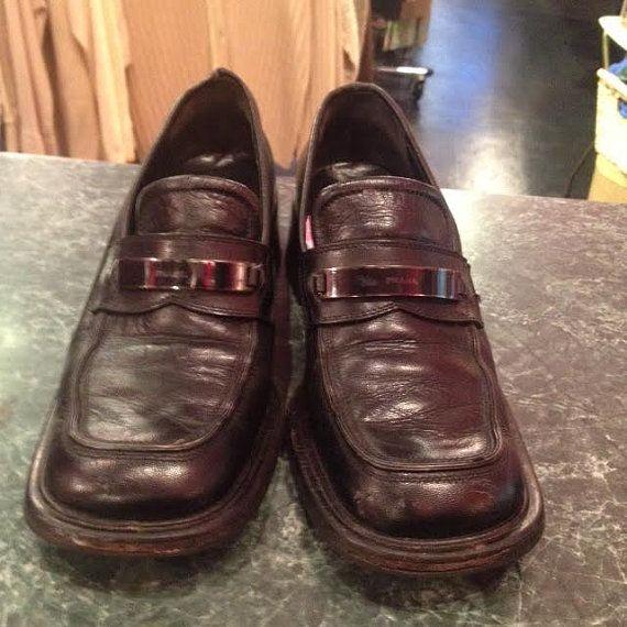 Vintage PRADA Loafers Women by CestLaVieBoutique6 on Etsy