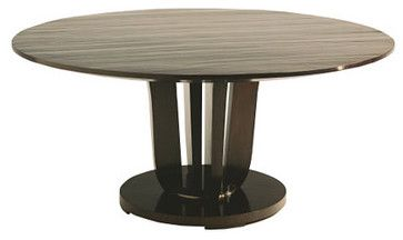 Baker Furniture : Round Dining Table by Barbara Barry traditional dining tables