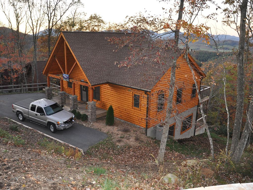 rentals lodge private cabins north pin vacation for rustic ski carolina cabin rent