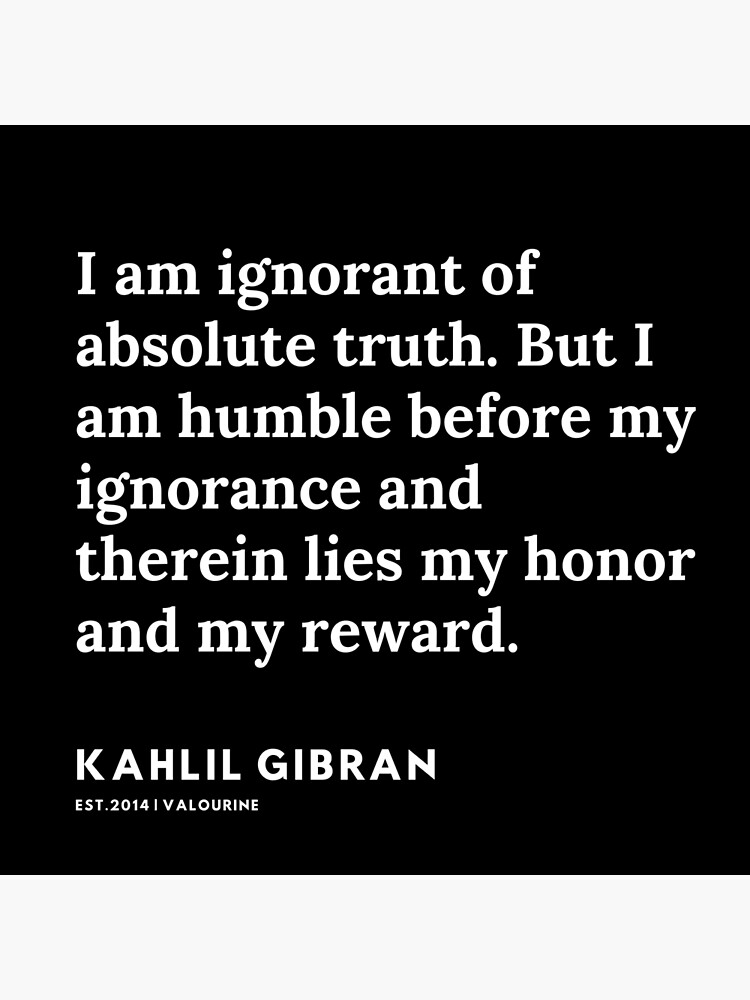 63  |  191119 | Kahlil Gibran Quotes  Poster by valourine