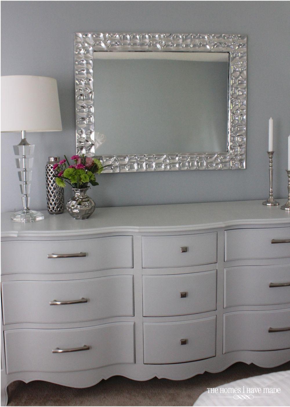Best A Modern French Provincial Grey Dresser Grey Bedroom 640 x 480