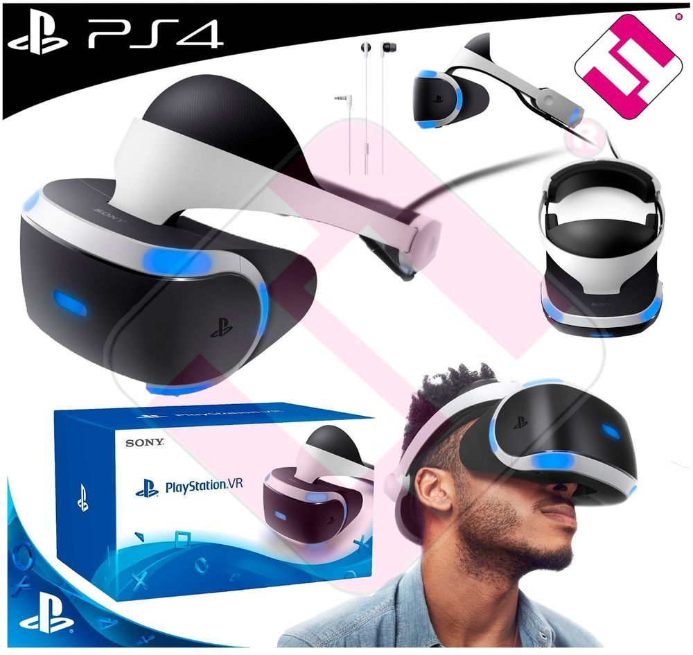 Gafas Vr Sony Original Realidad Virtual Para Playstation 4 Ps4 Top