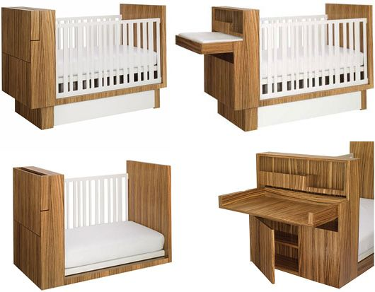 Crib With Changing Table Attached | Bassinet And Changing Table Combo2