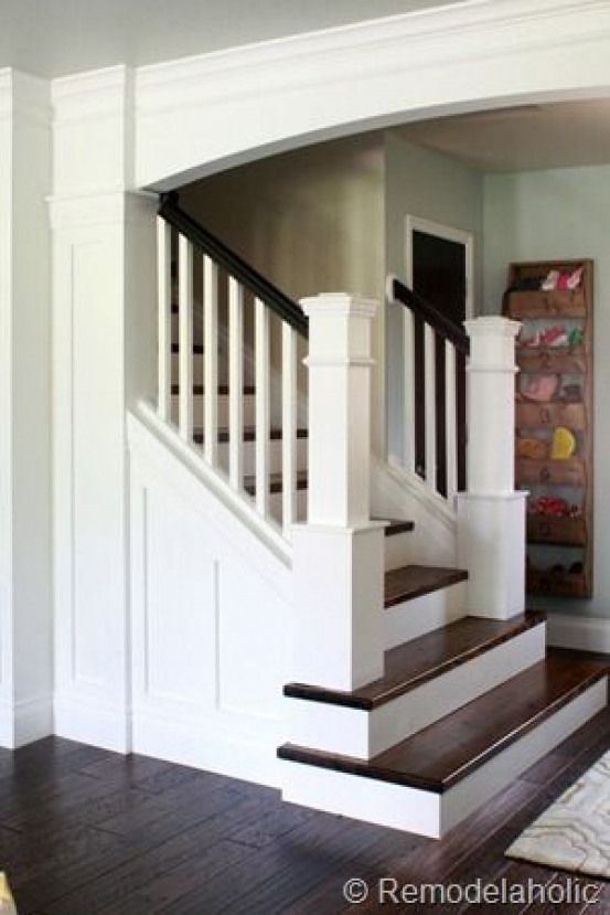 Best Stair Makeover Removing Carpet From Stairs Custom Newel 400 x 300