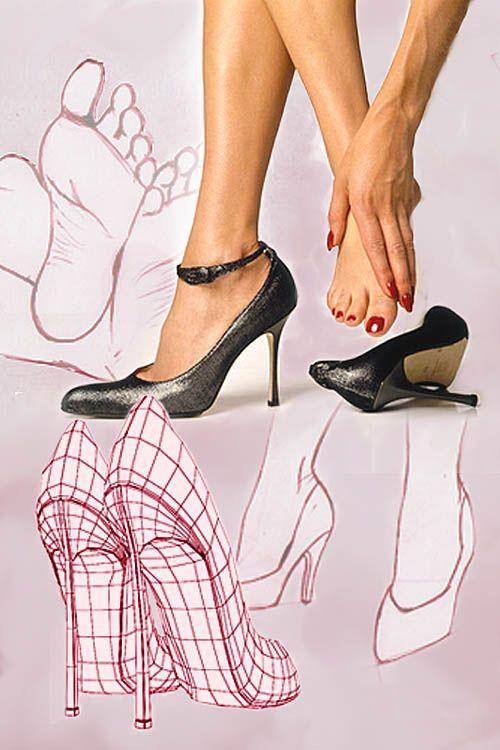 Tips Sepatu Wanita Hak Tinggi Sepatu Wanita Sepatu Sepatu