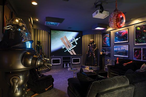 Man Cave Items To Buy : Some of the most epic man caves money can buy woman
