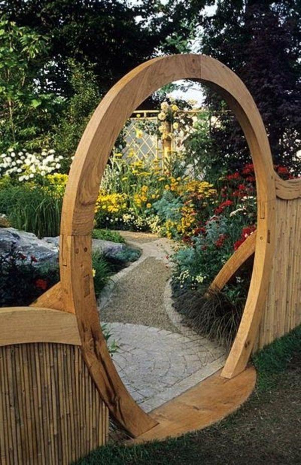 Modèles du jardin japonais , rien n\'est plus exotique ...