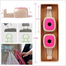 2 x Car Truck SUV Seat Headrest Bag Purse Coat Grocery Pink Hooks For Ford Dodge
