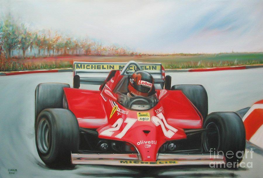 Pin von Mark John auf Motor racing paintings//posters | Pinterest