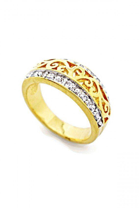 แหวนวงงาม ผลิตจากวัสดุอย่างดี ดีไซน์หรูหรา