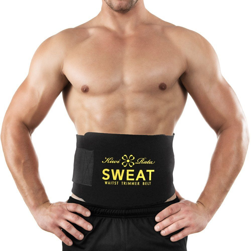 Men Women Yoga Slim Fit Waist Belt Cincher For Weight Loss Burn Fat Body Shaper
