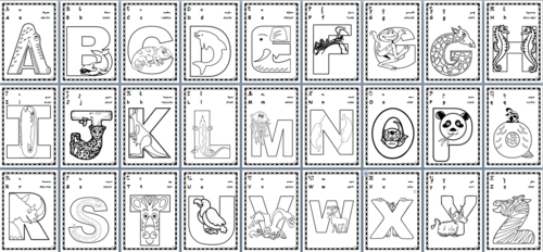 Coloriage Alphabet Ce1.Abecedaire Nb Cp Ce1 Gs Cye 2 Aphabet Colorier Afficher