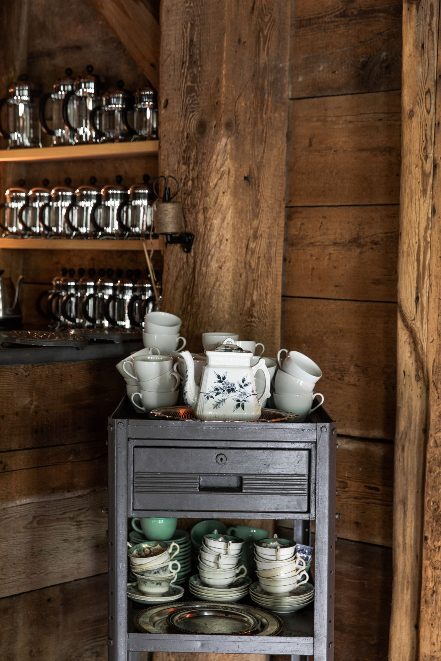 An Inside Look At The Lost Kitchen In Freedom Maine Storage