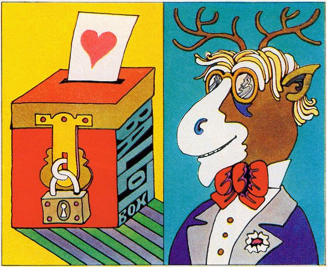 Swing Voters / Stag Banquet, 1968 by MewDeep, via Flickr