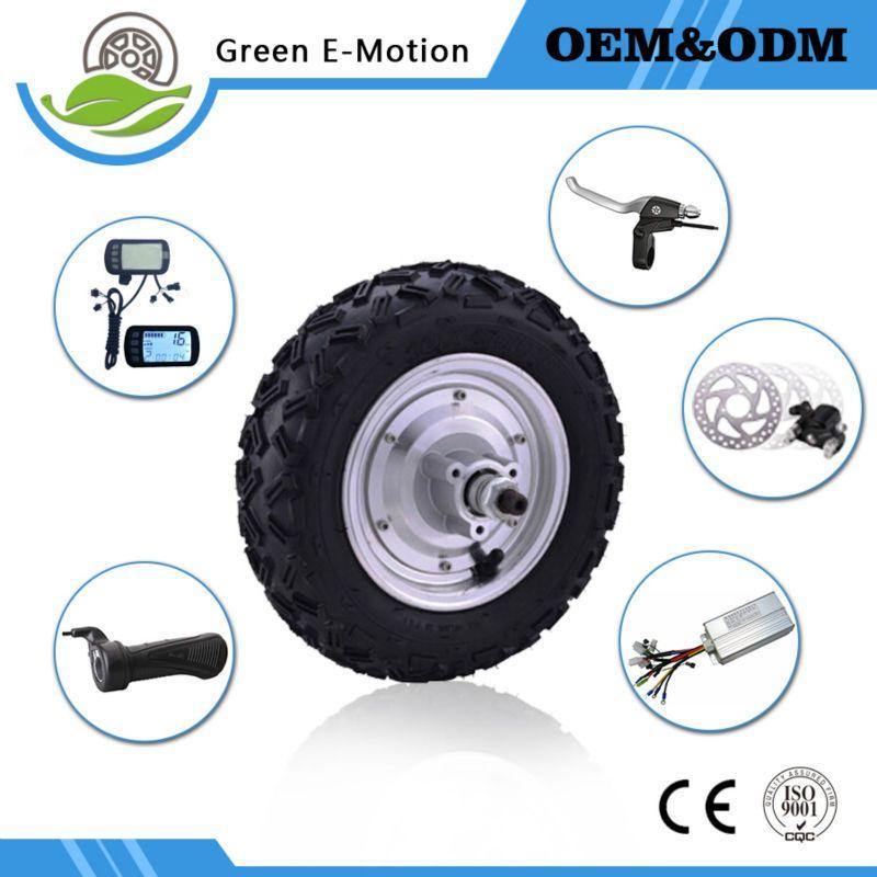 powerful electric wheel motor 10 inch 48v 350w/500w hub