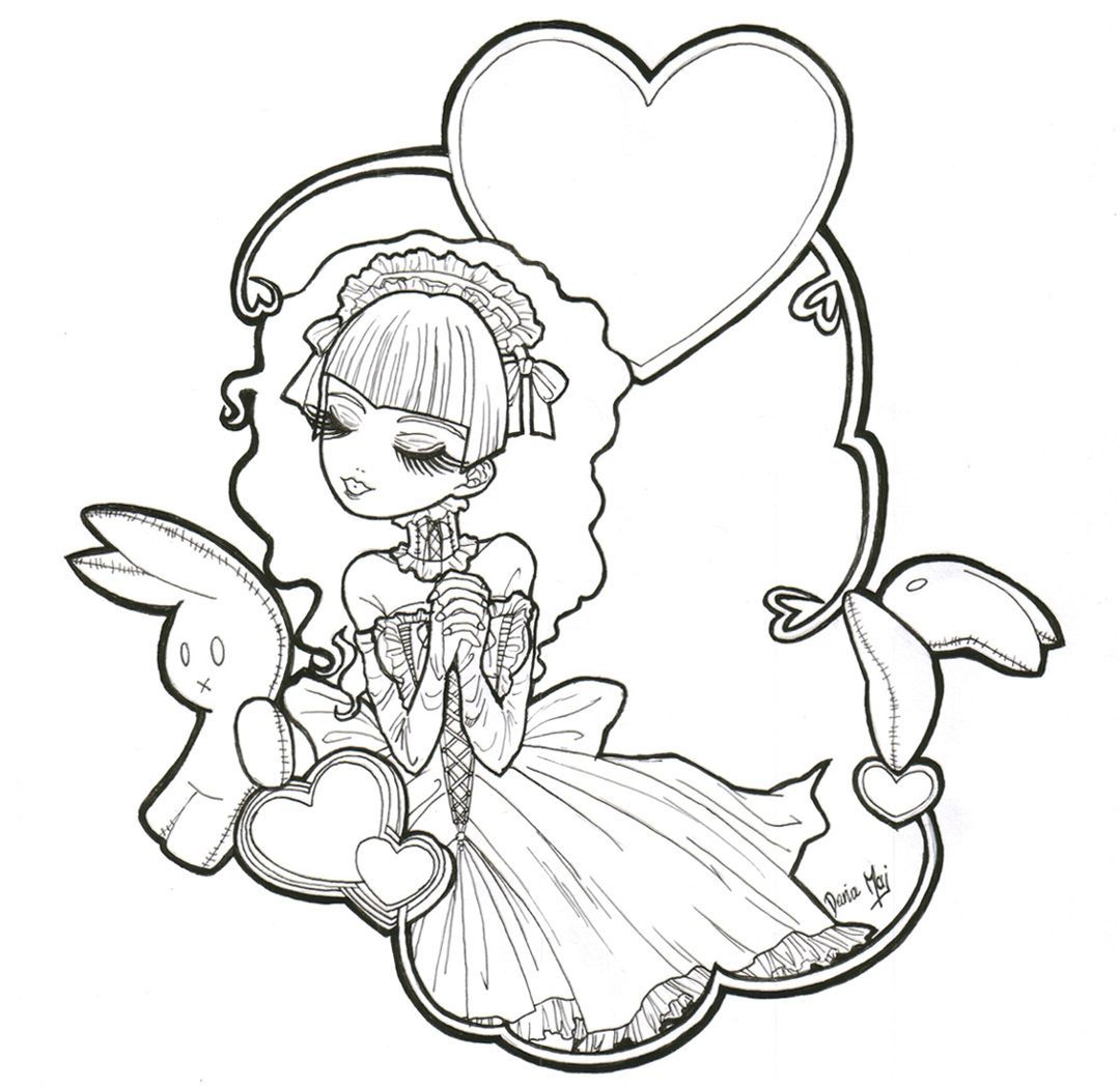 Gothic Coloring Pages Goth Anime 1080 1050 Attachments Csengerilaw Com Witch Coloring Pages Coloring Pages Fairy Coloring Pages [ 1050 x 1080 Pixel ]