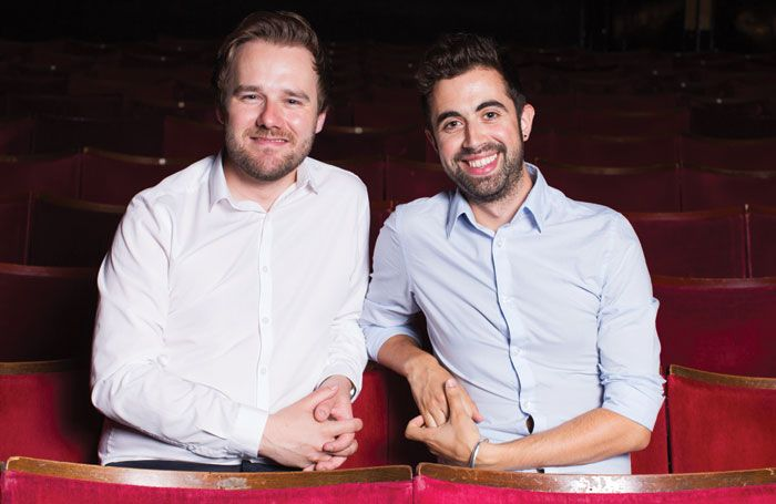 Meet the next generation of theatre producers. Stephen McGill and David Hutchinson, co-producers of the current London production of American Idiot.