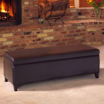 Fine Hartford Storage Bench Leather Storage Bench Storage Alphanode Cool Chair Designs And Ideas Alphanodeonline
