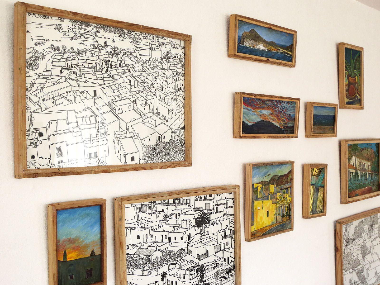 Esta es una #exposición virtual en la Galería de Arte Alfareros en Puerta Purchena, de la Diputación de Almería.
