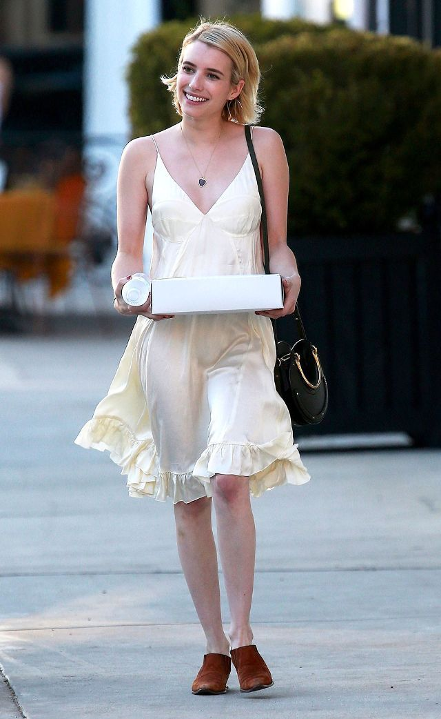 See What Your Favorite Style Stars Wore This Week Emma Roberts Style Emma Roberts Celebrity Dresses