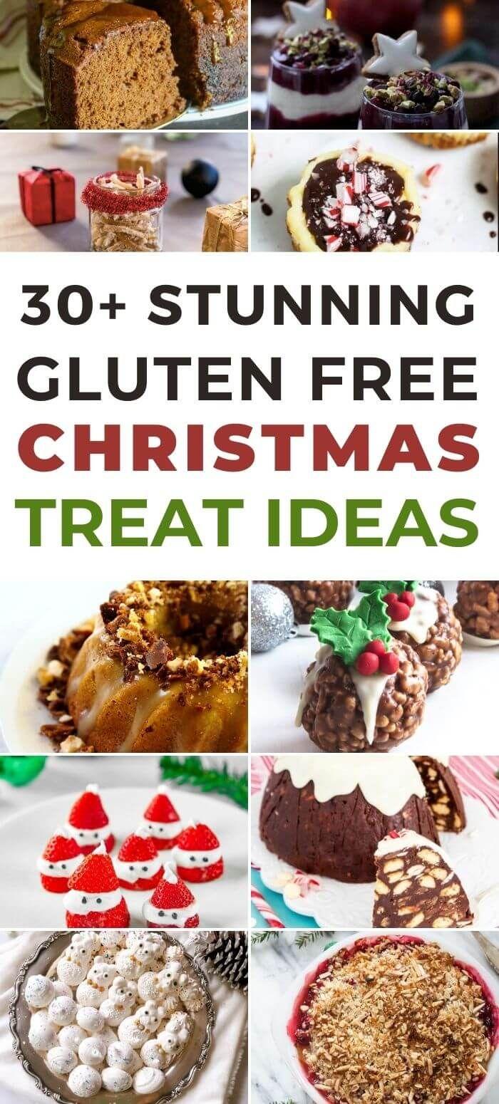 40 Gluten Free Christmas Treats (Round up)