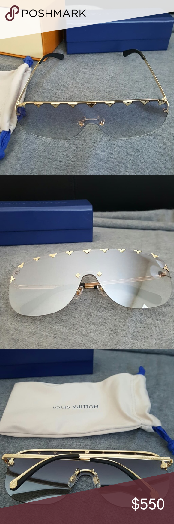 2e37609095b Louis Vuitton Purple Rain Mint Condition. Worn only twice. Made in Italy  100% Authentic Unisex Louis Vuitton Accessories Sunglasses