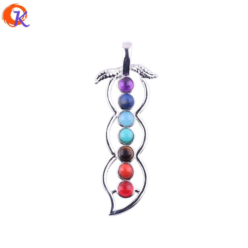 7 chakra stones chakra reiki point pendant charm pendant