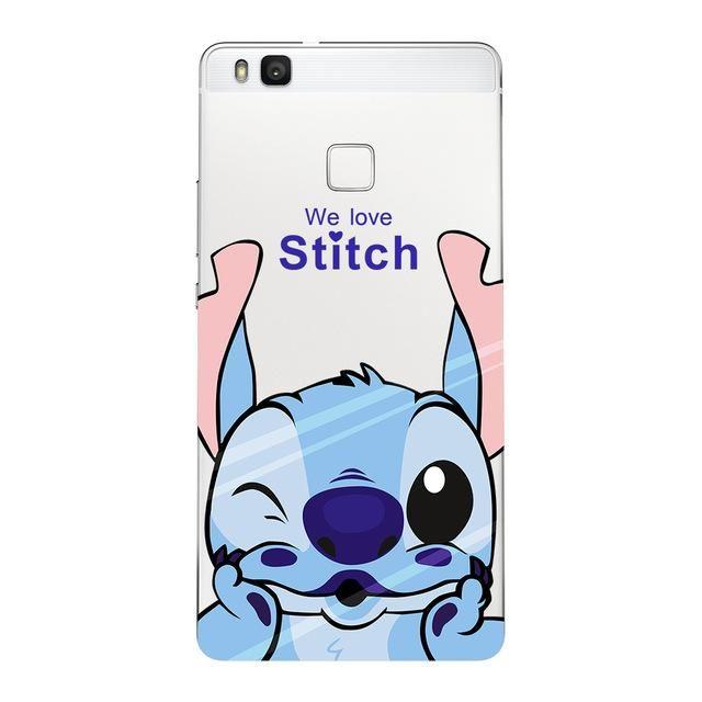 coque huawei p10 lite 2017 stitch