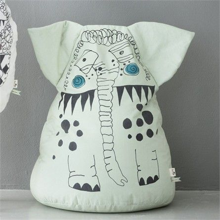 @Rosenberry Rooms is offering $20 OFF your purchase! Share the news and save! Edward Elephant Bean Bag #rosenberryrooms