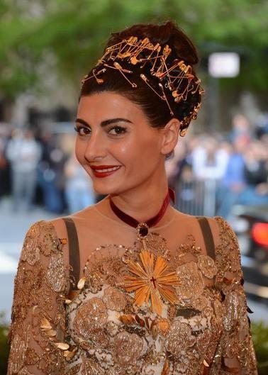 Giovanna Battaglia Stylist And W Magazine Contributor Giovanna