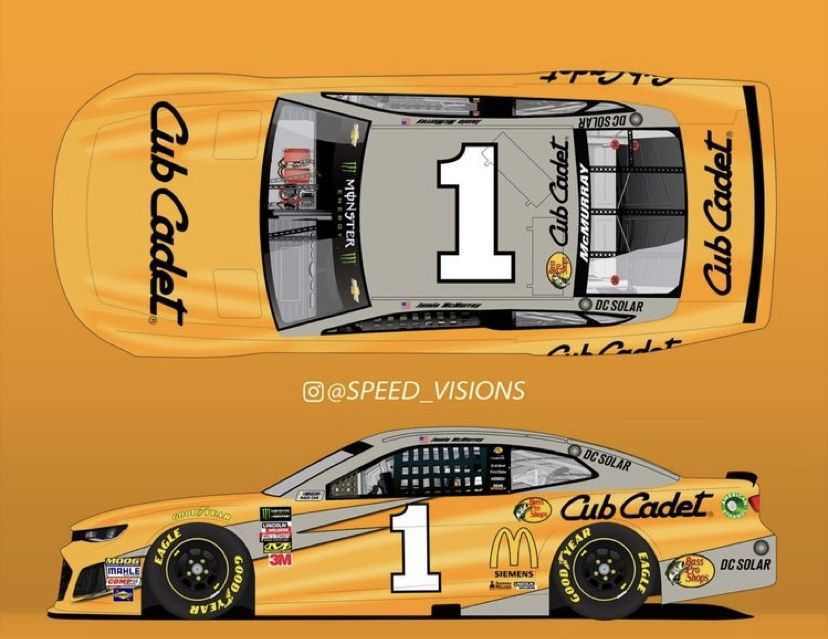 Pin on Fictional NASCAR Paint schemes