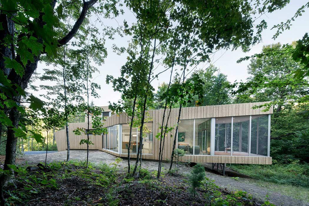 Lac Grenier Remodel by Paul Bernier Mimari ve Modern
