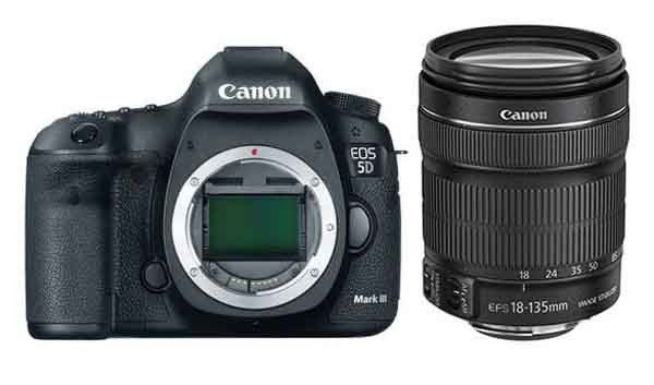 Canon 5d Mk Iii Dslr With Canon Ef 24 105mm Is Stm Lens Kit Canon Eos Canon Digital Slr Camera Dslrs
