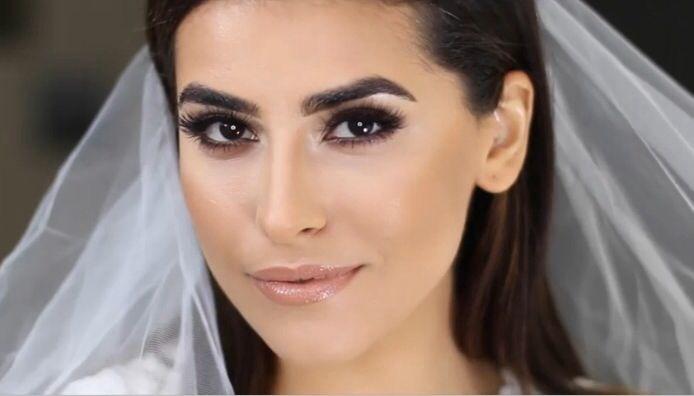 c8903be74c2c sazan hendrix wedding makeup!! OMG best makeup EVER
