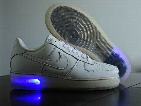 new product a447c 454ea ... sale nike air force one light up white shoes 58c15 8fca3