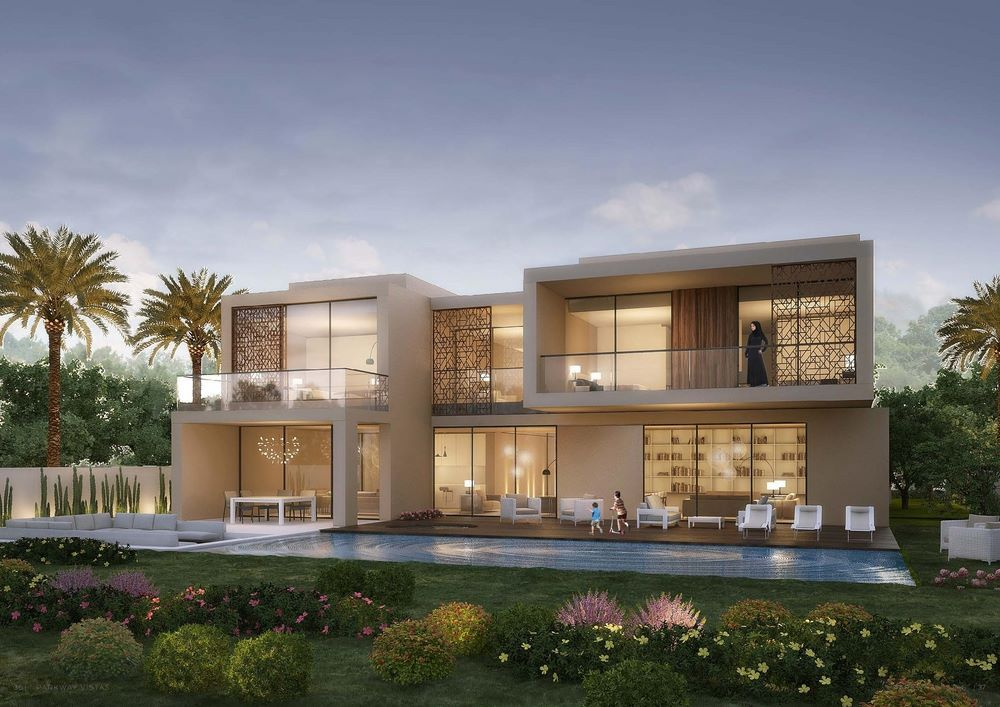 واجهات فلل عصرية مودرن Emaar Properties House Exterior Luxury Property