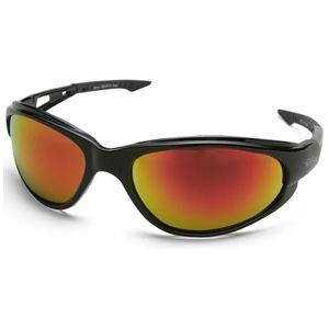 541de49110 Edge Eyewear SWAP119 - Dakura Safety Glasses with Aqua Precision Red Mirror  Lens